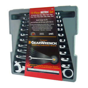 Kd Tools 9412 12 Pc Metric Ratcheting Wrench Set