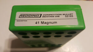 55185 REDDING COMPETITION SEATING DIE - 41 MAGNUM - BRAND NEW - FREE SHIP