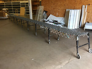 Best Flex 200 Flexible Gravity Skatewheel Conveyor 24ft X 2ft