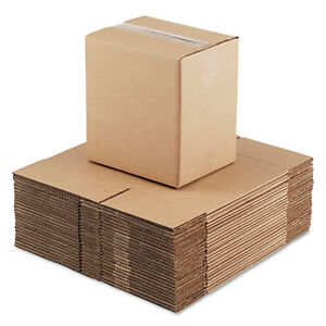 General Supply Brown Corrugated Fixed depth Shipping Boxes 11 1 4 inch Long X 8