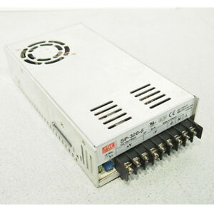 1pc Meanwell Sp 320 5 Ac To Dc Power Supply Single Output 5 Volt 55 Amp 275 Wat