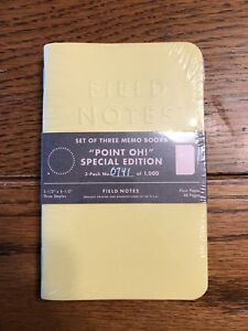 Field Notes Point Oh Brand New Sealed