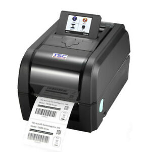 Tsc Tx200 Pos Printer Tt Lcd Display 203 Dpi 4 Ips Usb Built In Wifi Slot New