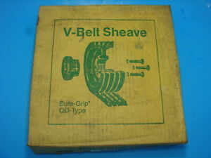 Tb Woods V Belt Sheave Sure Grip Qd Type 5v10 9 X 2 sk 5v10 9x2 sk New In Box