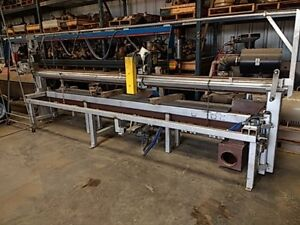 Cold Plate Saw For Non Ferrous Metals Cut Capacity 3 Thick X 144 Wide