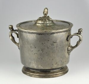Antique 19th C Russian Silverplated Ice Bucket By Alexander Katch
