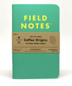 Field Notes Coffee Origins Brand New Sealed