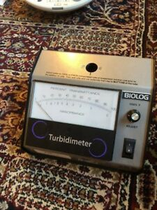 Biolog Model 21907 Turbidimeter Turbidity Meter