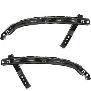 Acura Rsx 02 04 Left Right Side Front Bumper Cover Rebar Bumper Reinforcement