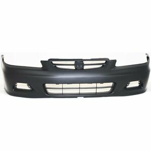For Honda Accord 2001 2002 New Facial Front Bumper Cover 2 Door Coupe Ho1000195