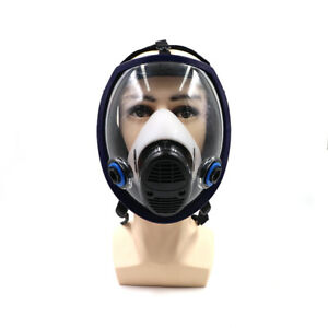 6800 Military Gas Mask Spray Paint Respirator Full N95 Maskfor Chemicals fumes