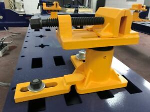 Universal Heavy Duty Auto Body Shop Frame Machine Anchoring Clamp Set Of 4