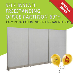 Gof Special Freestanding Partition 60 h office Wall Room Divider Workstation