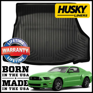 Husky Liners Weatherbeater Cargo Liner Mat 2010 2014 Ford Mustang Black