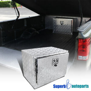 24 X17 X18 Truck Under Bed Tool Box Underbody Storage Pickup Trailer Lock