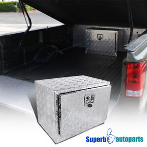 24 X17 x18 Truck Under Bed Tool Box Underbody Storage Pickup Trail