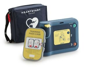 New Philips Heartstart Frx Trainer Package 861306 Trainer case pads adapter