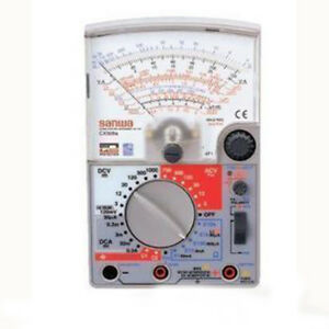 One Pc Sanwa Linear Analog Multitester Cx506a Cx 506a Multimeters Japan
