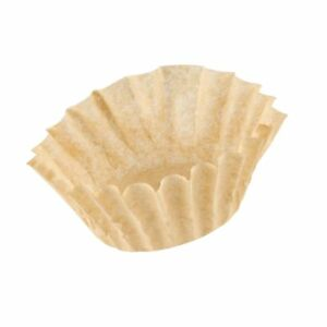 9 3 4 X 4 1 2 Unbleached Natural Coffee Filter 12 Cup 1000 case New