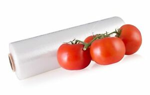 10 x15 Clear Plastic Roll Produce Bags Perforated 1 Roll 620 Hdpe Eagle Bag
