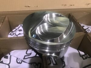 New Ross Pistons 30 201 Ford Dome Piston Set 4 605 Bore Check Out Scans