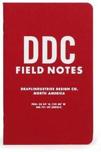 Scarce Field Notes 10th Tenth Anniversary Sealed 3 pack Pocket Notebooks