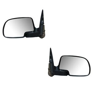 Mirrors For Chevy Silverado Sierra Avalanche 2003 2006 Power Smooth Pair