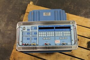 Multi amp Megger Epoch 10 Protective Relay 3 phase Test Tester Set In Case