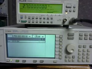 Fluke Pm6685 With Pm9624 Pm9691 Tested 2 7ghz With Very High Stability Timebase