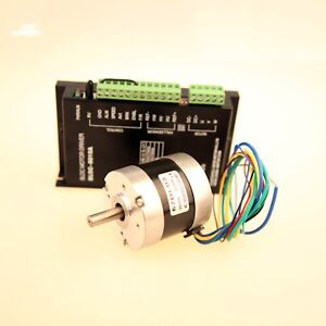 Brushless Dc Motor 57bl03 3phases 52w 3000rpm Dc Driver Bldc 8015a Cnc Medical