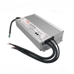 New Meanwell Hlg 600h 48a Constant Voltage Pwm Resistance Led Driver 600w 48v 12