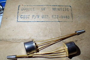 Couple Of Mos Fet Mem517c Transistors Neuf P n 082 822 0440