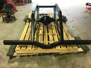 S W Ladder Bar Rear Welded Frame Narrowed Mopar 8 3 4 Rear Spool