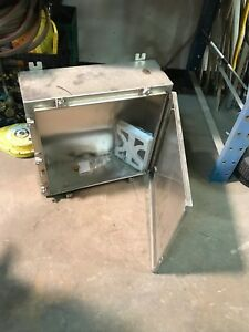 Wiegmann Sst N412mfkss Electrical Enclosure Box Stainless Steel Cabinet New