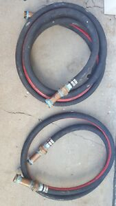 Global Petroleum Tank Hose Lot 2 12 20 Fuel Transfer Hoses 150 Psi 2