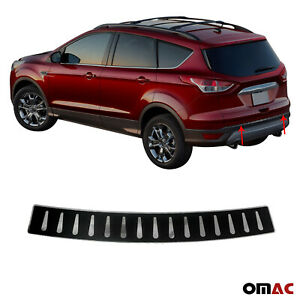 Fits Ford Escape 2013 2019 Carbon Wrap Rear Bumper Guard Trunk Sill Protector