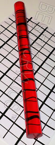 1 Diameter Clear Translucent Red Acrylic Plexiglass Lucite Rod 12 Inch Long