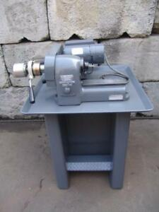Hardinge Hsl 5c Speed Lathe Air Checker With Stand Great Shape