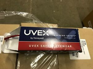 10 Uvex S1169 Astrospec 3000 Safety Glasses Eyewear Patriot Frame Clear Lens