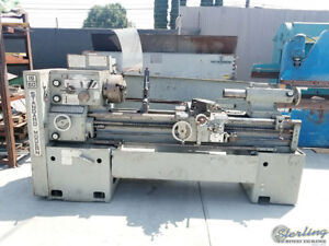 19 X 60 Used Standard Modern Military Spec Engine Lathe Mdl 1960 A5304