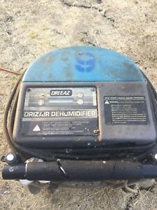 drieaz Commercial dehumidifier Blue