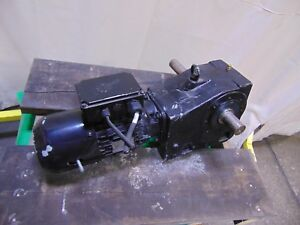 Nord 1 5 Hp Electric Motor And Gearbox Speed Reducer 96 Rpm 208v 1 5