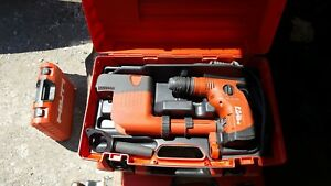Hilti Te 6 s Corded Rotary Hammer Drill W Dust Suction Unit And Case 120v 650w