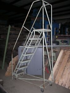Berg Rolling Stock airplane Ladder L 9709