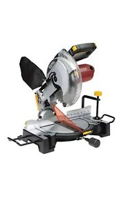Compound Miter Saw Precision Cross Bevel Cuts Laser Guide System 10 In
