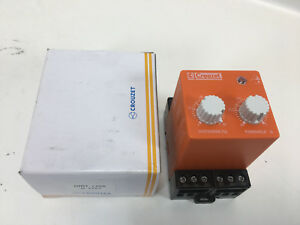 Crouzet Dirt110a Current Monitoring Relay Spdt 10 A Socket 250 Vac New