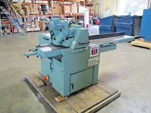Wadkin bursgreen Model Par 2 3 Or 4 Sided Planer Sizer
