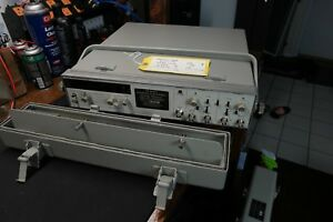 Hp 5328a 500mhz Universal Frequency Counter Oven Osc Ts 3662 u