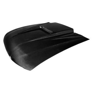 For Ford Mustang 1999 2004 Carbon Creations Spyder 3 Style Carbon Fiber Hood