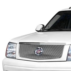 For Cadillac Escalade 2002 2006 Apg 1 Pc Hairline Vertical Billet Main Grille